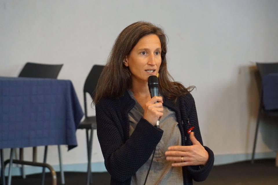 """Conférence """"alimentation et climat"""" lors de la journée 'climat de fête' organisée par climaction le 6 octobre 2018."""