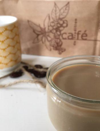crème dessert au café