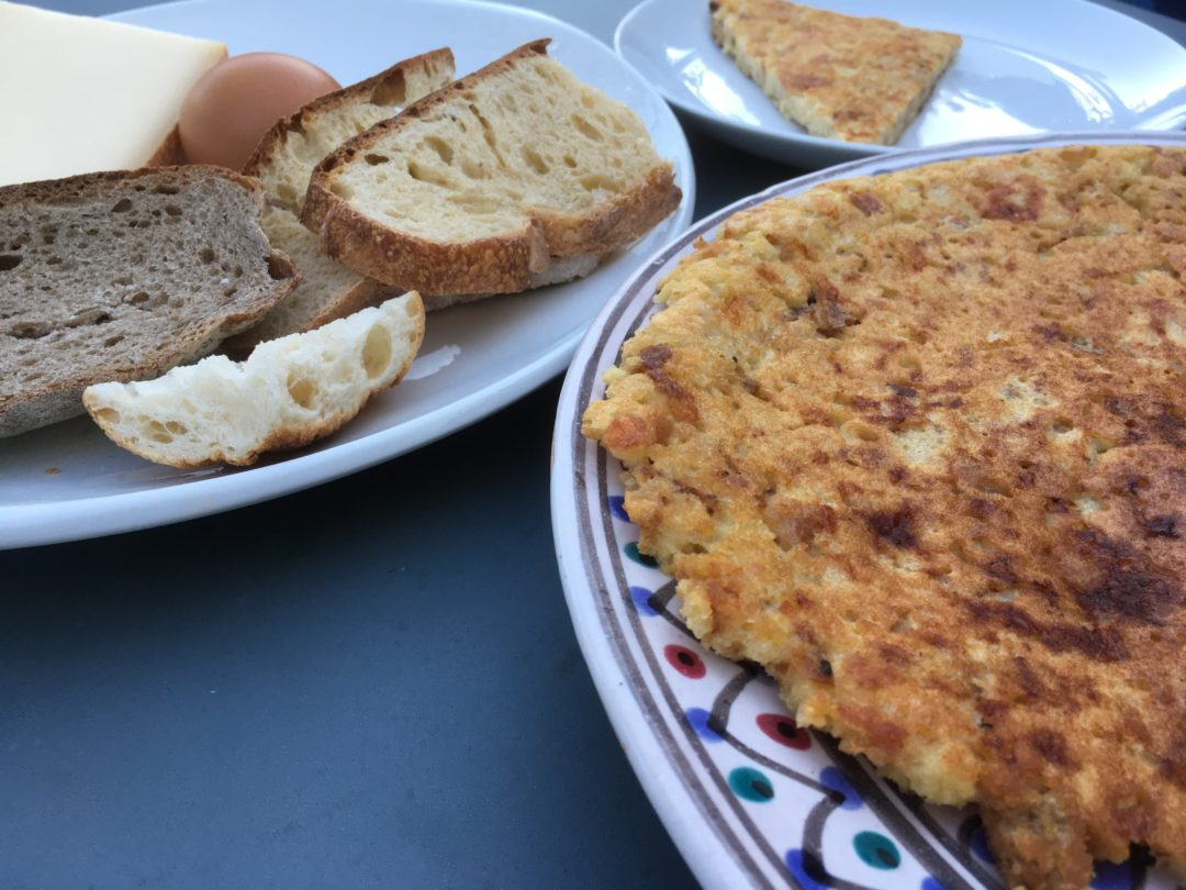 Recette de pain perdu au fromage