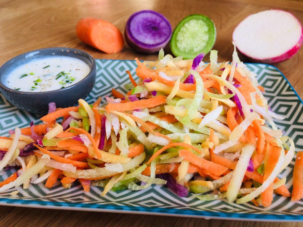 salade de radis et carottes
