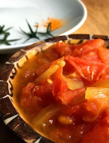 Recette sauce rougail