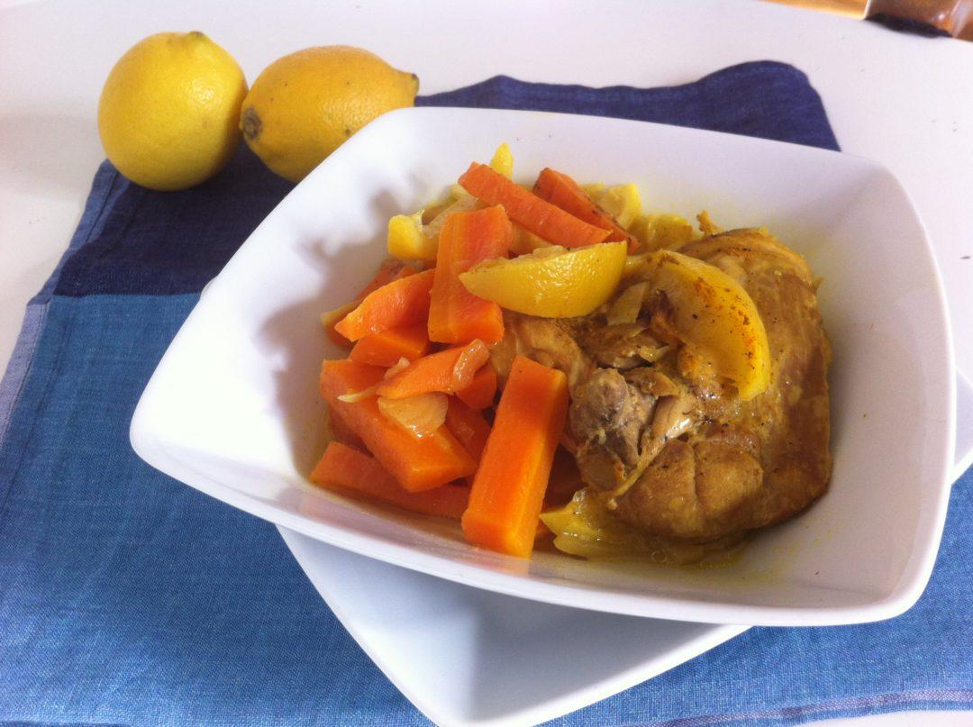 curry de poulet au citron