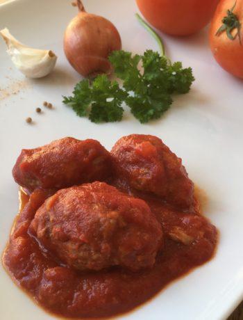 Kefta maison de veau au cumin et à la tomate