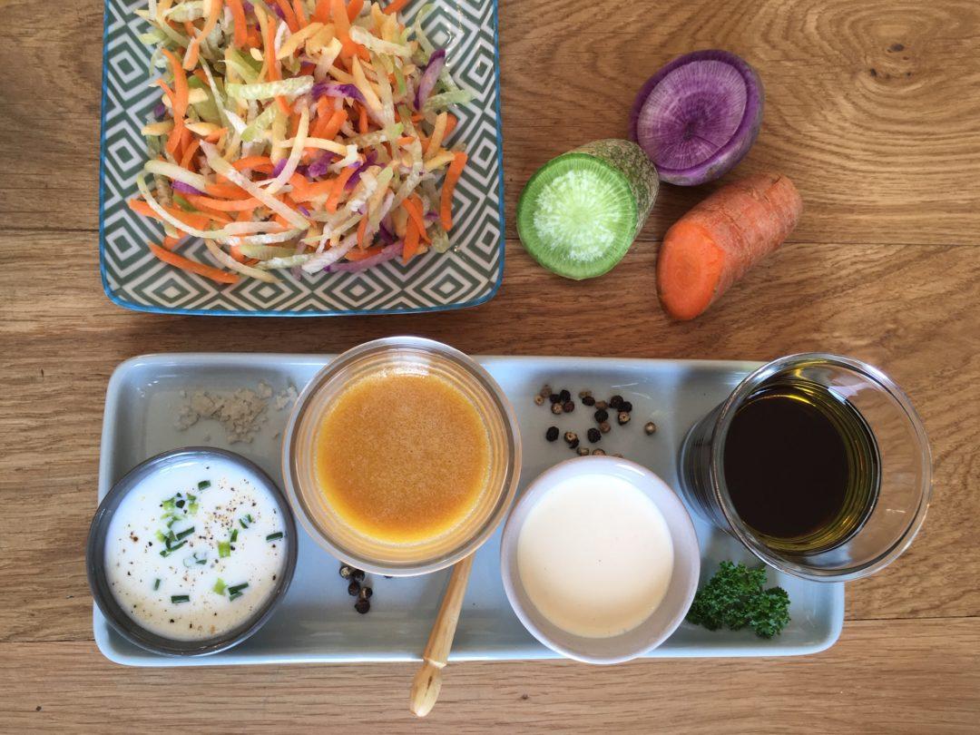 Recette de sauces d'accompagnement pour les barbecues et salades