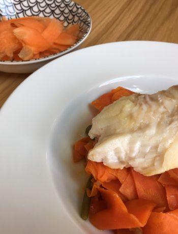 Recette simple de poisson aux légumes