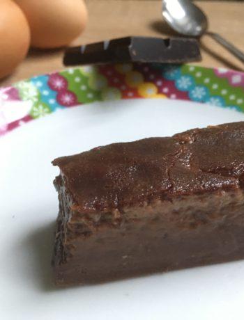 Flan ou far au chocolat