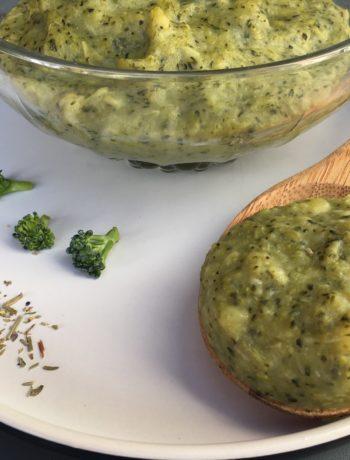 Purée de brocolis maison