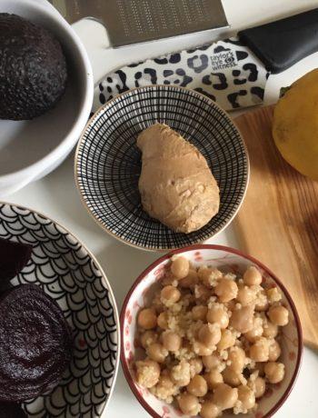 Composer une assiette froide équilibrée : tartinade, salades, assaisonnement