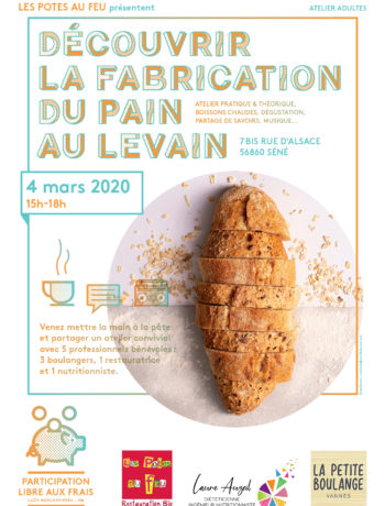 Atelier et animation fabrication de pain au levain