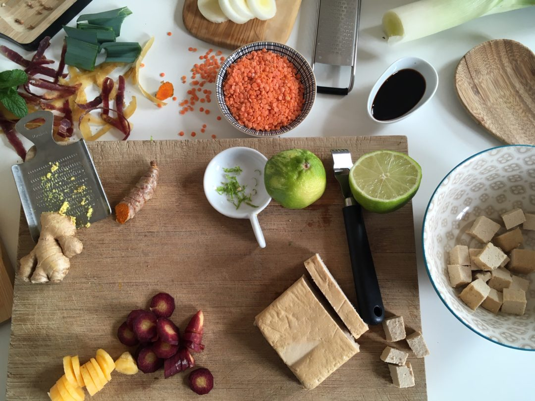 Atelier de cuisine pour valoriser les protéines végétales