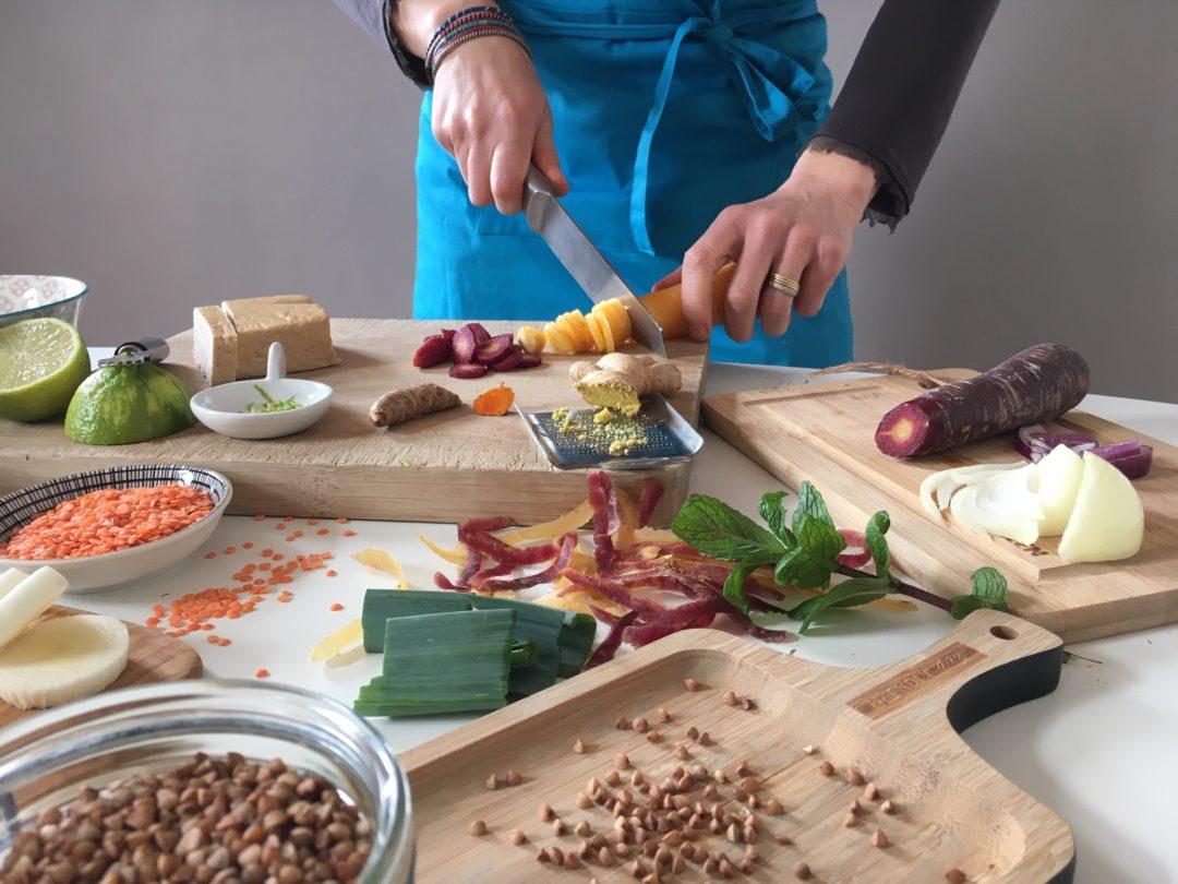 Atelier de cuisine simple et équilibrée