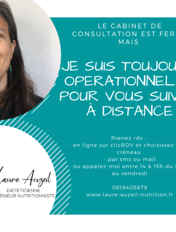 Consultation Nutrition en temps de confinement