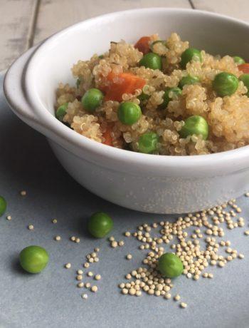 Quinoa aux petits légumes