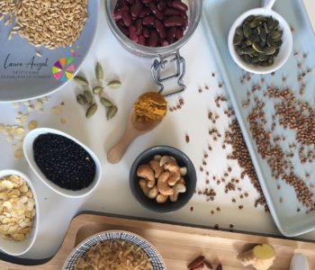 Variété des aliments santé