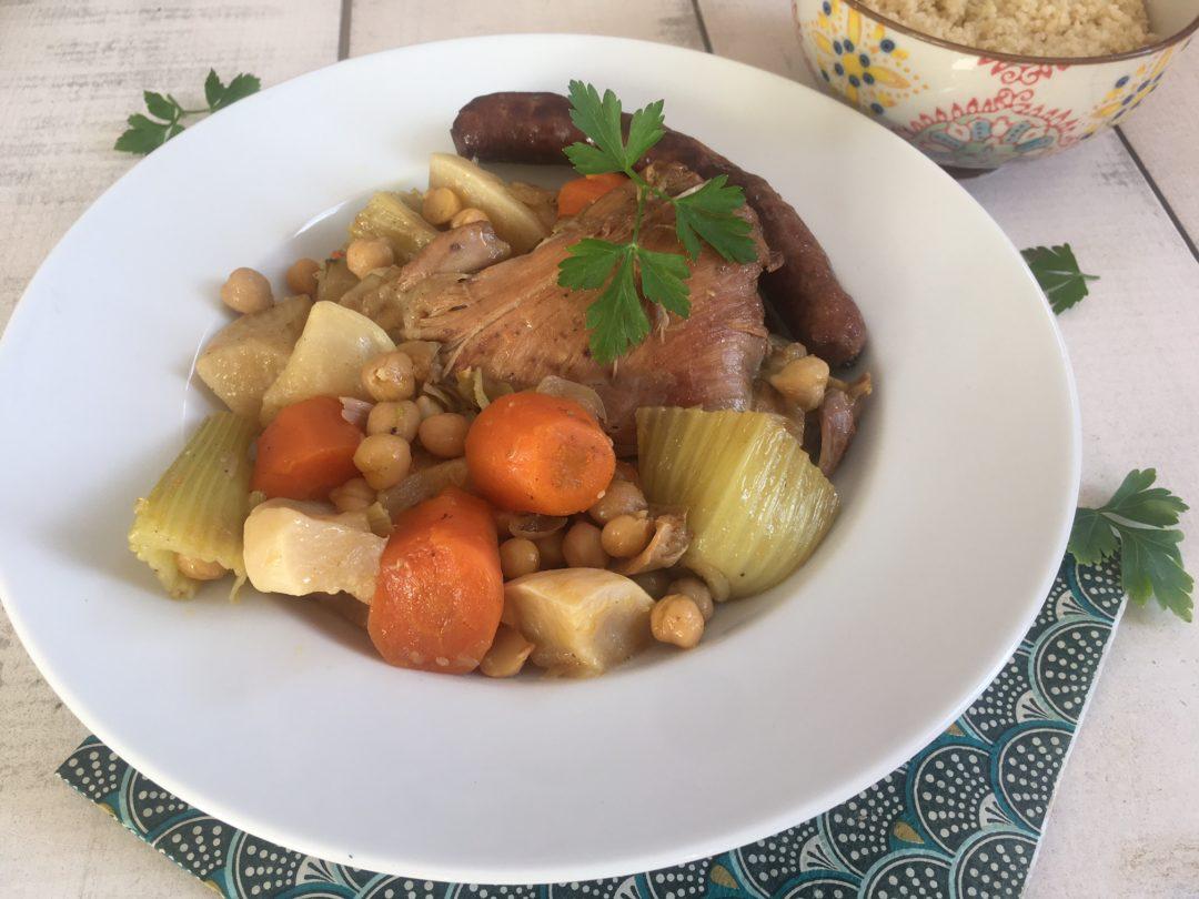 couscous poulet et légumes d'hiver