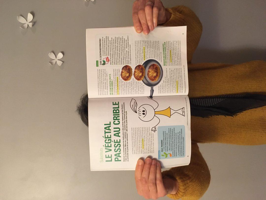 Article sur les substituts végétaux