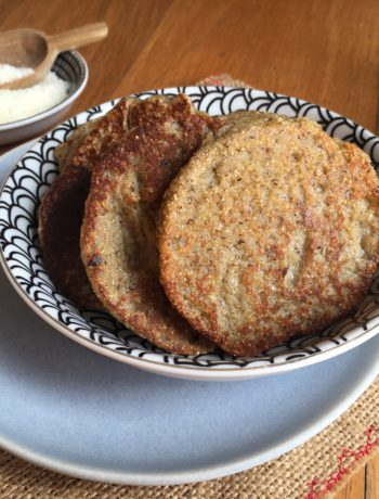 Galettes aux fromages sans oeuf ni gluten