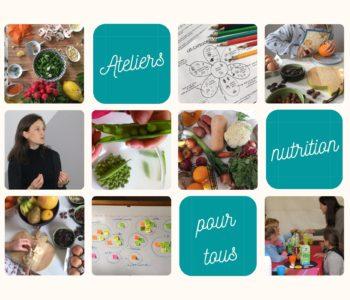 Atelier de nutrition en établissements scolaires
